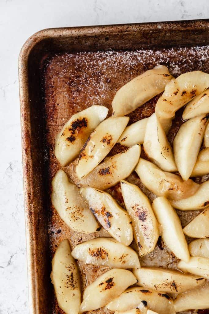 bruleed apples