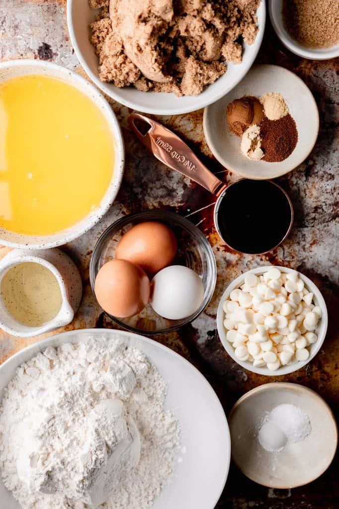 ingredients needed for molasses blondies